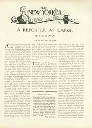 """a noiseless flash  john hersey    s     hiroshima      original publication of john hersey    s essay """"hiroshima"""" in the new yorker  august"""
