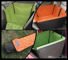 pet dog cat waterproof car seat cover mat blanket cradle bed rear back pets hammock cushion