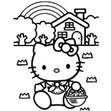 Hello Kitty Colring Sheets Hello Kitty Face Coloring Pages At Getdrawings Com Free