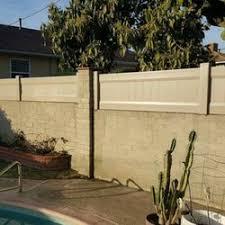 vinyl fencing. Photo Of Nicks Vinyl Fence - Montebello, CA, United States Fencing