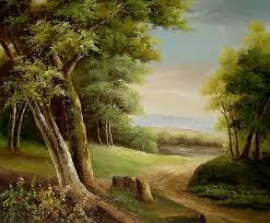 famous landscape oil painting reions