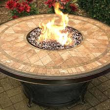 best of fire pit glass wind guard tables images on round table free burn