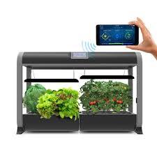 aerogarden aerogarden farm hydroponic garden kit for indoor growing in black