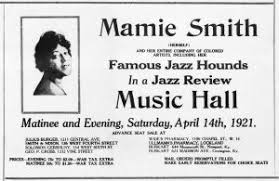 Mamie Smith: Queen of the Blues in Cincinnati Music Hall - Friends of Music  Hall