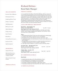 Sales Manager Cv Template Sales Manager Resume Template 7 Free Word Pdf Documents