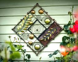 exterior wall art metal decorative hangings tin external outdoor australia w