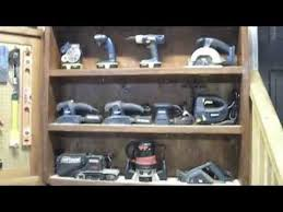 power tool wall organizer. tool display cabinet - workshop organization ideas power wall organizer r