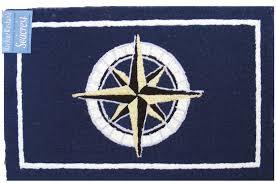 nautical rugs 2x3 compass