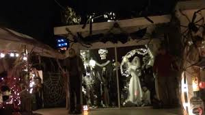 haunted house lighting ideas. Manificent Decoration Haunted House Decorations Halloween Decorated Chula Vista Ca YouTube Lighting Ideas S