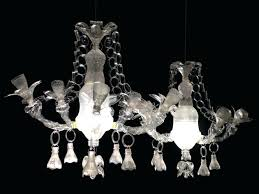 full size of small plastic crystal chandelier pet luminaries by art recycled bottle drops artist bottles