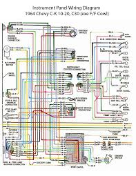 14 best '60s chevy c10 wiring & electric images on pinterest Of Light Switch Wiring Diagram For 1963 Chevy electric wiring diagram instrument panel