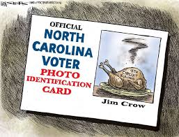Hijacked Shield Of Who Carolina Stripped Suppression Its North Country Voter Our