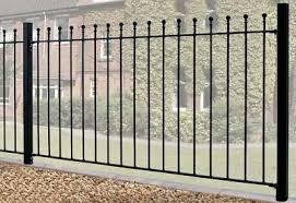 decorative metal fence panels. Manor Wrought Iron Style Metal Garden Fence Panels Decorative