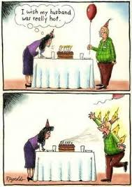 Husband and Wife. Birthday wish. | Marriage Humor | Pinterest ... via Relatably.com
