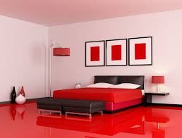 Elegant A Coat Of White Paint Gave Them An Updated Look That Works Perfectly In The  Red And Black Themed Bedroom.