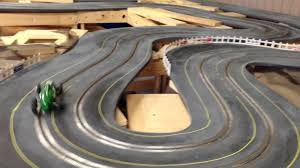 building a s style routed wooden slot car track part  building a 1960 s style routed wooden slot car track part 10