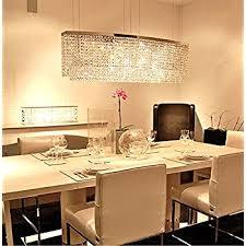 modern crystal pendant lighting. Crystal Kitchen Island Lighting Unique Siljoy Modern Chandelier Rectangular Pendant For