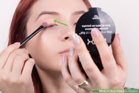 image led wear pink eye shadow step 7