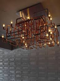copper pipe chandler a lovely diy project for the adventurous
