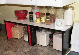 kitchen counter cabinet. Kitchen Countertop Storage Cabinet Organization Ideas Side Tray Rack Counter