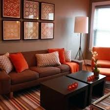 low budget living living room decorating ideas on a budget living room brown and orange design