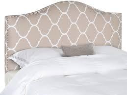 connie pearl lattice grey headboard headboards