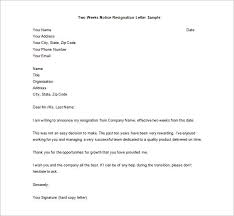Resignation Letter Template - 17+ Free Word, Pdf Format Download ...