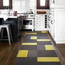 exotic black rug runner contemporary yellow black kitchen runner rug black floor runner rubber