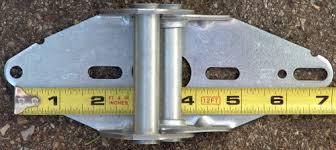 more dimensions of garage door hinges
