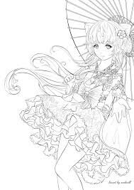 Anime Coloring Pages Cheshire Cat Color Adult Pictures 1776