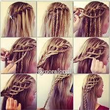 Hairstyle Waterfall 17 wonderful waterfall braid tutorials for your luscious locks 6318 by stevesalt.us