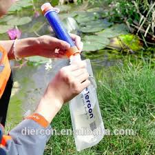 water purifier straw. Diercon Outdoor Kit Personal Water Purifier Straw Mini Filter Emergency Purification