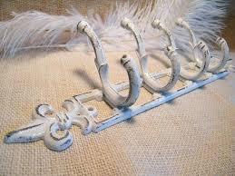 Distressed White Coat Rack Fleur De Lis Coat Rack Fleur De Lis Coat Hanger sgmunclub 58