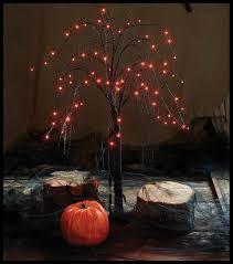 Outdoor Light Up Halloween Tree Light Up Spooky Willow Tree Set Halloween Decor Props Indoor Outdoor Display 2pc
