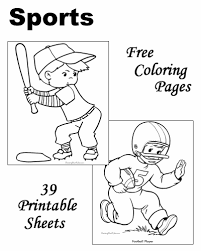 Sports To Color