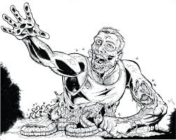 zombie coloring pages zombie coloring book page scary zombie coloring pages zombie coloring pages scary