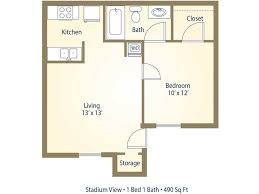 Average Square Footage Of A One Bedroom Apartment Memsaheb Net