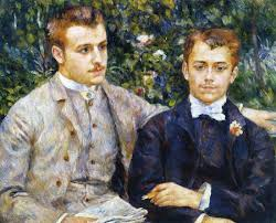 charles and georges durand ruel by pierre auguste renoir