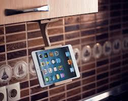 Kitchen Tablet Holder Wood Tablet Stand Trending Items Unique Gifts Ideas Kitchen