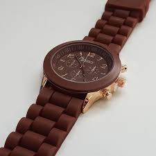 watches men s ladies designer watches uk delivery stylish mens brown silicone w rose gold fashion watch by cheeky he 13