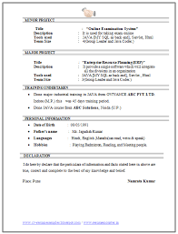 Bunch Ideas of Sample Resume For Computer Science Student Fresher Also  Sample Proposal