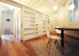 Renovation Of An Apartment In Barcelona By Laura Bonell Mas Simple Apartment Design Remodelling