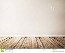 Wood floor room Large Empty Room Of White Wall And Wood Floor Deavitanet Empty Room Of White Wall And Wood Floor Stock Illustration