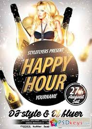 Happy Hour Flyer Happy Hour Psd Flyer Template Free Download Photoshop