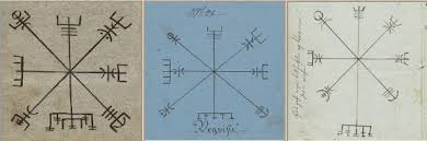 Původ Symbolu Vegvísir Projekt Forlǫg