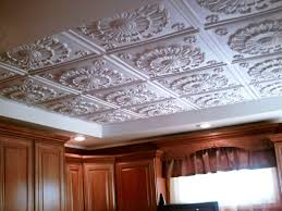 How To Install Decorative Ceiling Tiles Interior Faux Ceiling Tile Headboard Faux Tin Ceiling Tiles Home 5