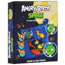 "<b>Набор для</b> создания картины из <b>пластилина</b> Centrum ""Angry Birds"""
