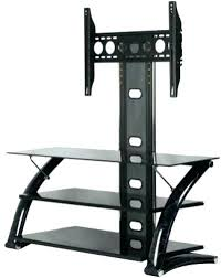 stands glass shelves stand collection black marble comes with mounting brackets accommodates up to flat screen