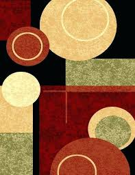 black multi green beige burdy rust modern area rug contemporary abstract rugs 8x10 furniture direct reviews