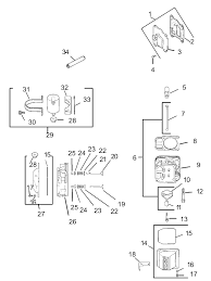 toro parts z450 z master 52in turbo force side discharge head valve breather assembly kohler cv20s pro 65593